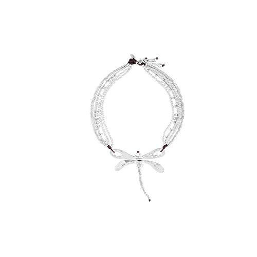 Uno de 50 Dancing til Dawn Dragonfly Necklace by Uno de 50