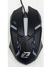 ماوس العاب Zero ZR-200 بسلك اكس 7 - لون اسود