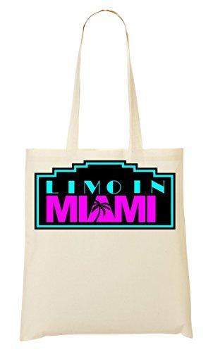 Limo In Miami Bolso De Mano Bolsa De La Compra