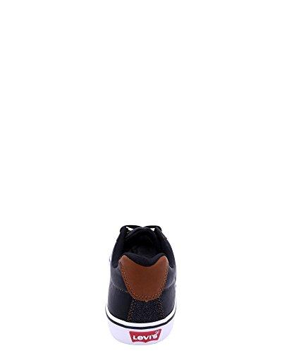 Sneaker Girevole Da Uomo Levis Levis Nero / Bianco