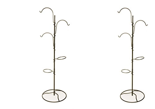 Yard Butler YT-5 Yard Tree Hanging Garden System (Pack of 2) by Yard Butler