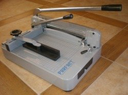 (TRADEMARKED) PERFECT G12 PRO Professional STACK Paper Cutter with extra cutting blade by Perfect Company