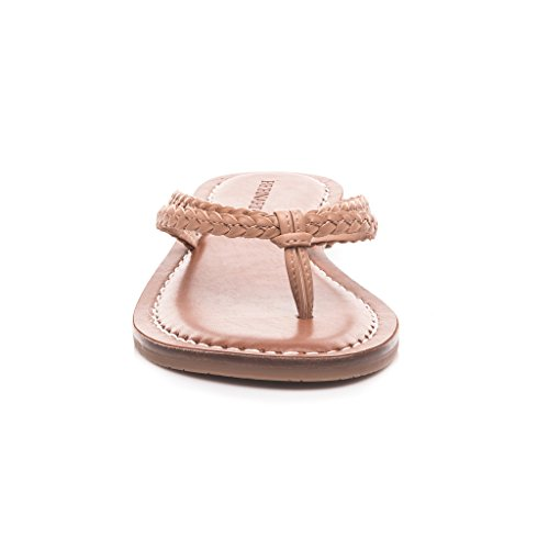 Bernardo Donna Greta Sandalo Blush Antique Vitello