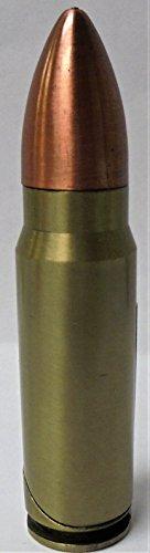 5 Eclipse Bullet Novelty Lighters, Refillable Butane Lighter 1462-1-5