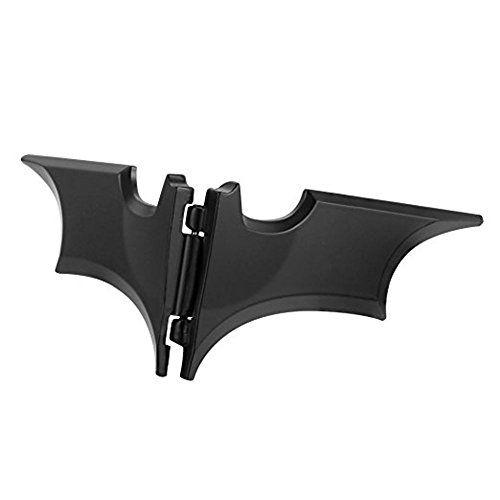 HONB Unisex Zinc Alloy Batman Batarang Money Clip, Slim Novelty Money Clip
