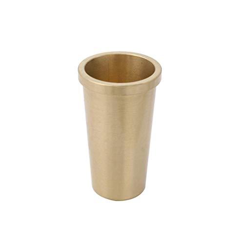 MY1MEY Cubiertas de pies de Cobre Puro, Patas de Muebles de Madera Maciza Europea Cubiertas conicas para la antioxidacion de mesas y sillas