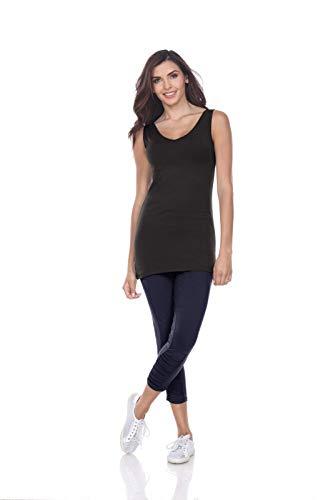Neon Buddha Women's Wear Two Ways Sunburst Tank, Black, Small