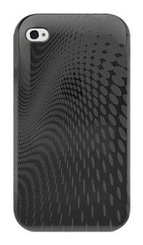 Katinkas 2018037398 Housse en silicone TPU pour Apple iPhone 4 Noir
