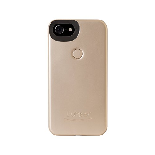 LuMee Two for iPhone 8/7/6s/6, The Original and AuthenticPatentProtected Selfie Case - Gold Matte by LuMee (Image #2)