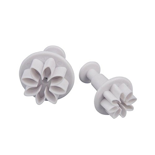 Patisse 02049 Flower Plunger Cookie Cutters Set, Small/Medium/Large (Tiny Flower Cookie Cutter)