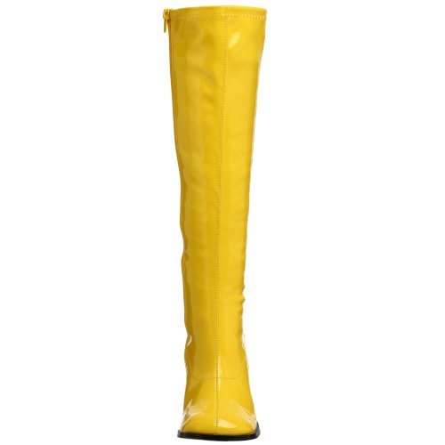 Donna A Collo 300 Alto Funtasma Da yellow Gogo Giallo Scarpe 0tq55xIw