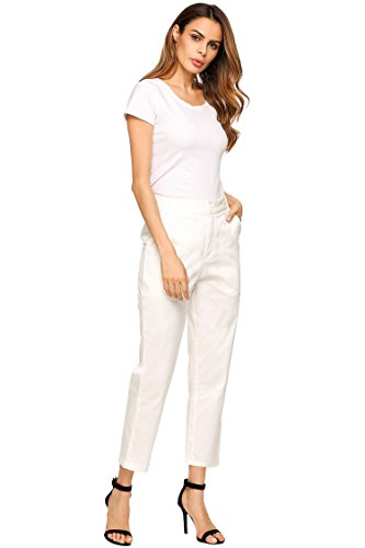 Corduroy Pants,Super Comfy Flat Front Stretch Trousers Pants