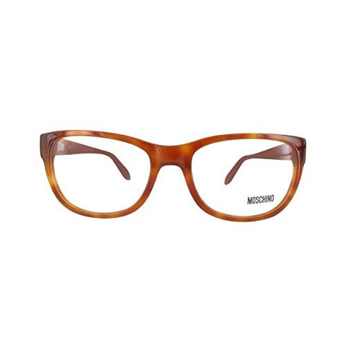 MOSCHINO Women's Eyeglasses 52 Tortoise ()