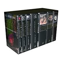 Harry Potter Box Set, Books 1 - 7 : Adult Cloth British Edition [Hardcover]