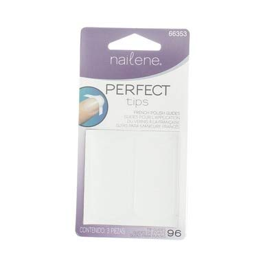 Nailene Perfect Tips French Polish Guides, 3 sheets