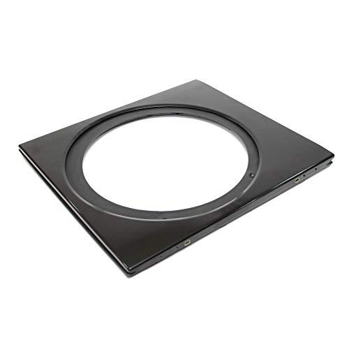 134913160 Dryer Door Outer Panel (Black) Genuine Original Equipment Manufacturer (OEM) Part Black