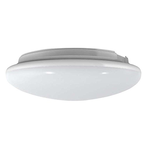 Pure White LED Ceiling Wall Surface Mount Microwave Motion Activated Smart LED Light Fixture Built with 180 LED 1200 Lms Multi-Functions for Residential Commercial and Industrial Lighting - Ceiling Lighting Residential Fixture