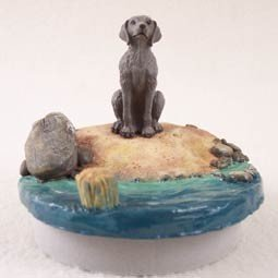 - Conversation Concepts Miniature Weimaraner Candle Topper Tiny One