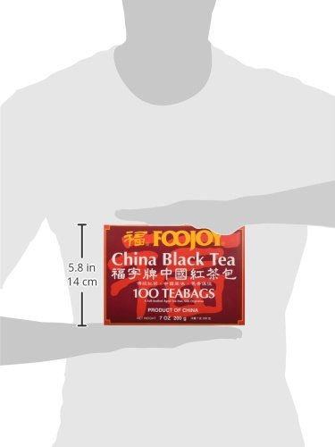 Foojoy China Black Tea - 100 Tea Bags 3 Foojoy China Black Tea Fresh tea leaves are carefully fermented to create a mellow tasting tea with an attractive reddish infusion 100 Tea Bags