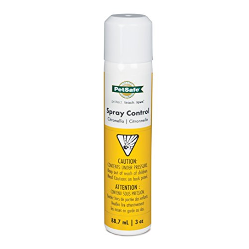 - PetSafe Citronella Spray Can Refill for Spray Bark Control Collars and Remote Trainers