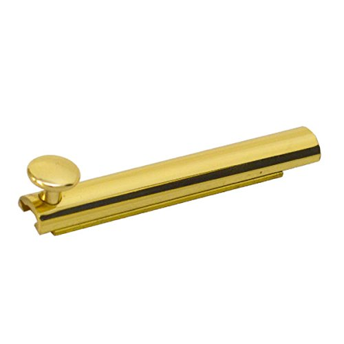 Colonial 4 Inch Polished Brass Marine Boat Surface Door Bolt Latch 904-3