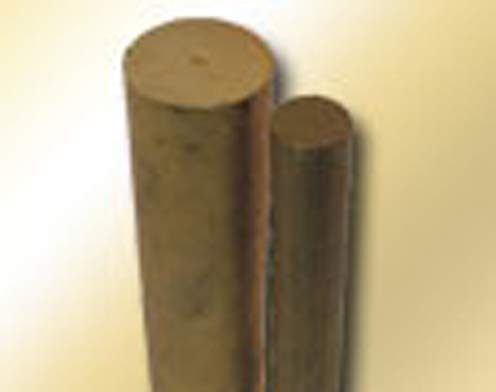 Bunting Bearings - Solid Bar Stock - 3/4 in OD, 6-1/2 in Overall Length, Powdered Metal Material (5 Units)