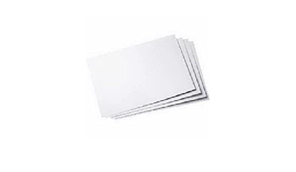 25301 11 x 14 Inches 5-Sheet Pack Royal Brites Poster Board White