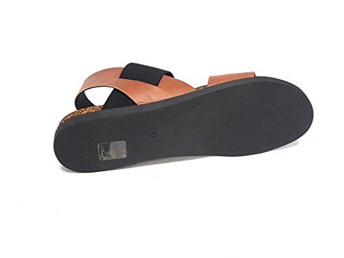 Fashion Cuoio Sandals Women's LiliMill Nero Multicolour Hq6vCw
