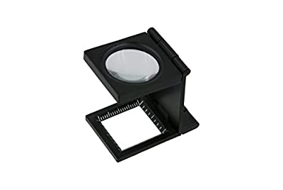"1"" Folding/Magnifying Thread Counter Linen Tester"