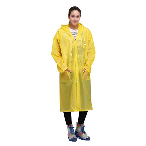 Capp Outdoor Spessore Gelb Trasparente Con Adulto Trekking Elodiey Impermeabile pWzn0xUz