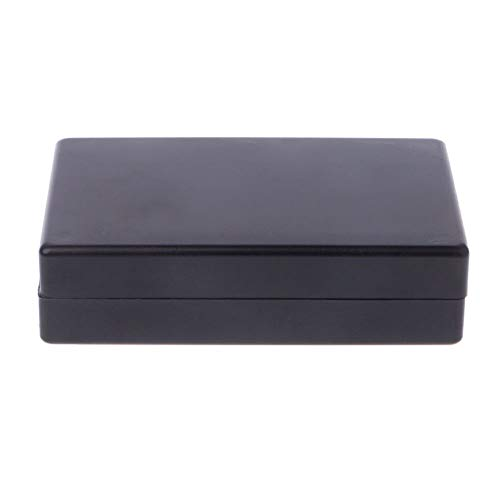 125x80x32mm Black Waterproof Box Electronic Project Instrument Case  Connector
