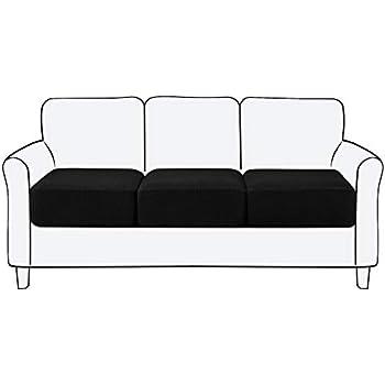 Amazon.com: Subrtex Spandex Elastic Couch Cushion Covers ...