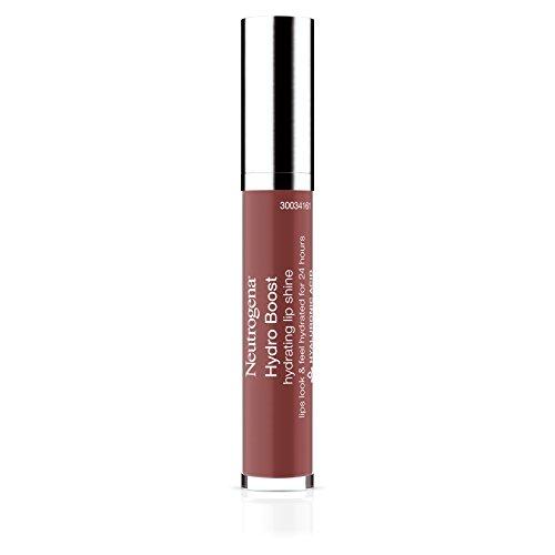 Neutrogena Hydro Boost Hydrating Lip Shine, 90 Pink Mocha Color, 0.10 oz