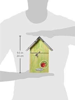 A Frame Ladybug House Esschert Design WA20 5.6 x 4.5 x 7.9 in
