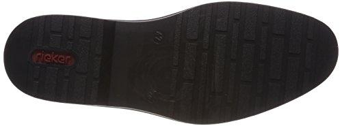 Schwarz 16502 Scarpe Rieker Uomo Stringate Polvere Derby Nero Nero g0Owqp