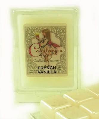 Courtney's Candles FRENCH VANILLA Mixer Melt or Wax (French Vanilla Tart)