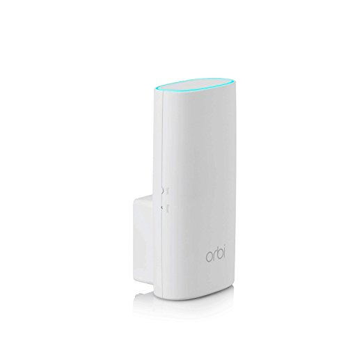 NETGEAR Orbi Wall-Plug Whole Home Mesh WiFi Satellite Extender - works with your Orbi router to add 1,500 sq. feet of coverage at speeds up to 2.2 Gbps, AC2200 (RBW30)