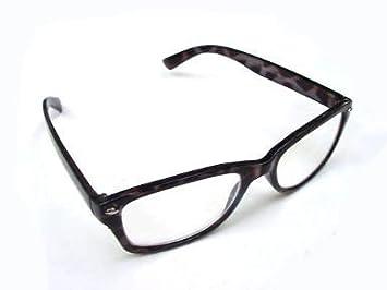 831509526f WAYFARER STYLE READING GLASSES BLACK MOTTLED 1.5 RETRO LOOK R4007 ...