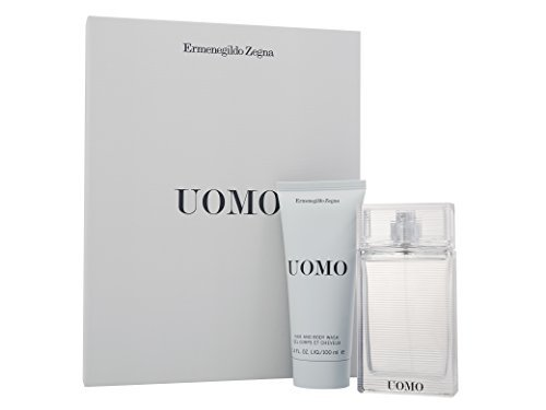 Zegna 100 Ml Edt (Ermenegildo Zegna Uomo EDT Spray and Hair/Body Wash 100 ml by Ermenegildo)