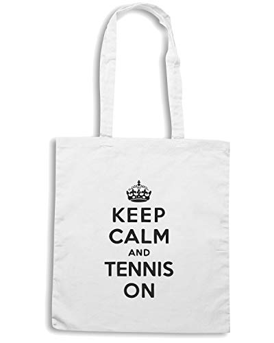 Shopper TENNIS Borsa Bianca CALM KEEP OLDENG00152 ON AND URdZq4