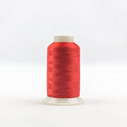 WonderFil InvisaFil Specialty Thread, 2-Ply Cottonized Soft Polyester, Silk-Like Thread for Fine Sewing, 100wt - Dusty Rose, 2500m