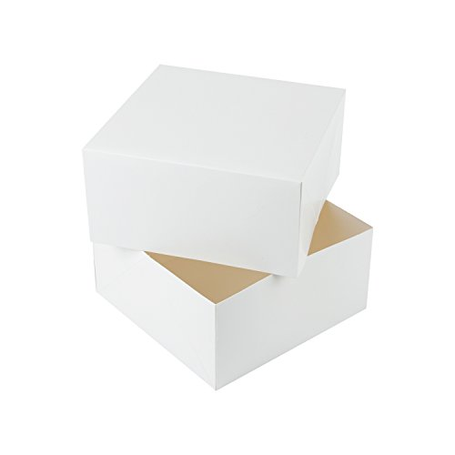 RUSPEPA Square Cardboard Gift Boxes - Coffee Cups Gift Box with Lids - 8