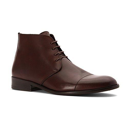 Stoere Heren Italo Boots Medium Bruin