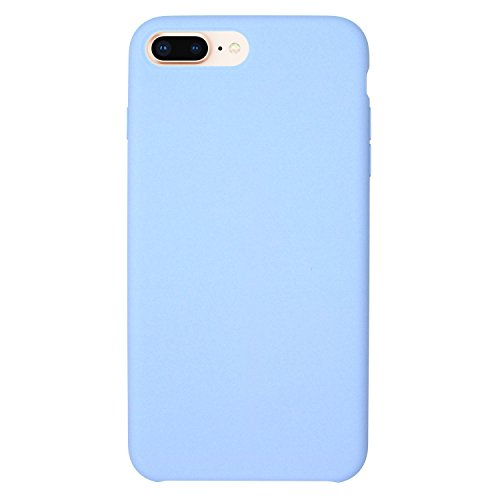 Iphone Blue Silicone Skin - Danbey iPhone 8 Plus/7 Plus Silicone Case (5.5