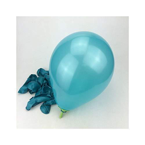 10pcs/lot Blue 10inch 1.5G Balloon Air Balls Inflatable Wedding Balloons Children Birthday Party ()