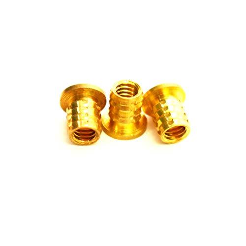 8 32 brass inserts - 4