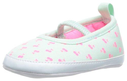 Carter's Baby-Girls Newborn Skimmer Multi-Colored, Light Mint/White/Pink, 2 (3-6 - Skimmer Signature