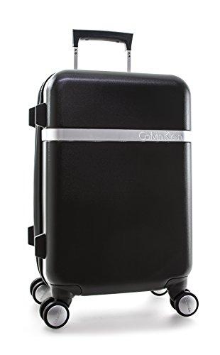 Calvin Klein Libertad 2.0 21 Inch Spinner, Black, One Size by Calvin Klein