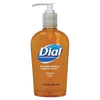 Liquid Dial Antimicrobial Liquid Soap, 7.5 oz Pump Bottle