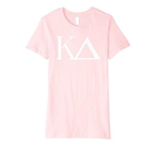 (Womens Kappa Delta Shirt College Sorority Fraternity Tee Small Pink)